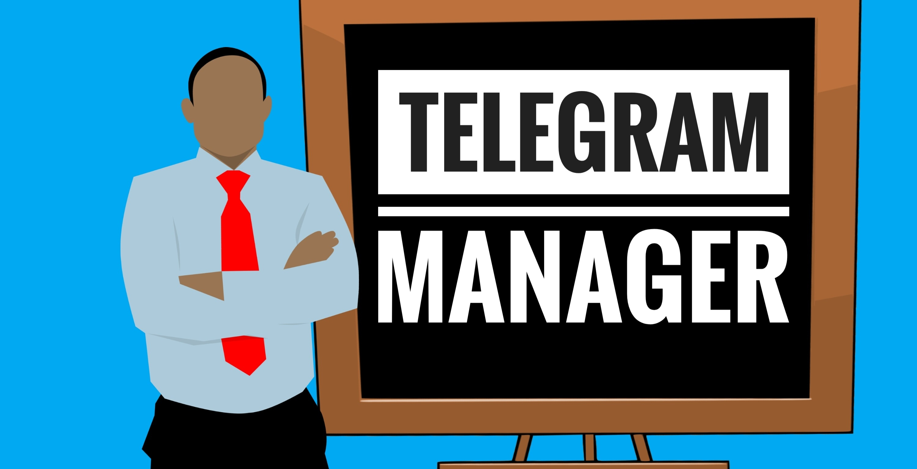 Be your telegram account manager