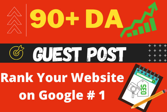 Write And Publish High Quality Guest Posts Authority Backlinks