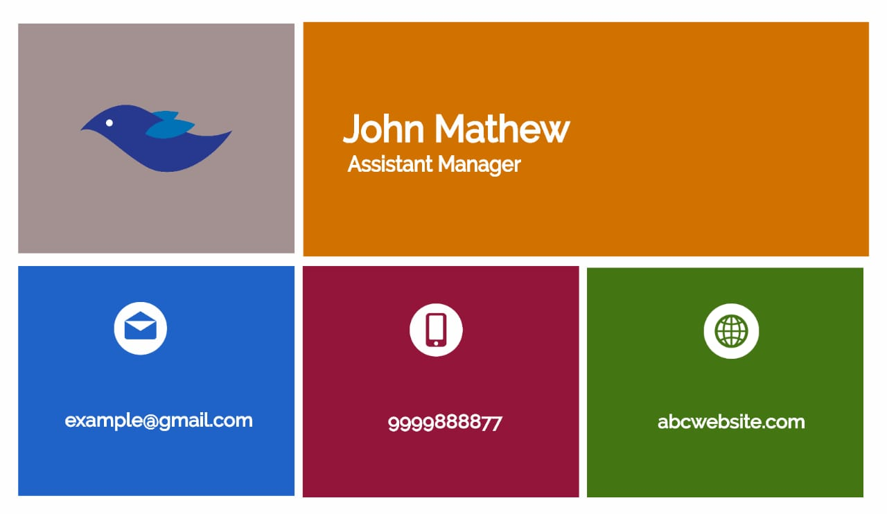 Design Professional Business Card Within-24 Hours