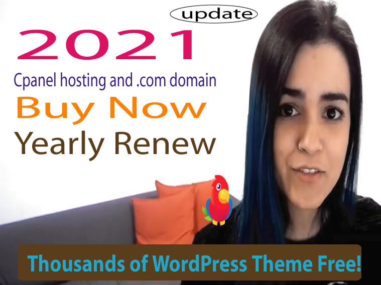 buy. com Domain and 10 GB cPanel web hosting for 1 year - premium wp theme