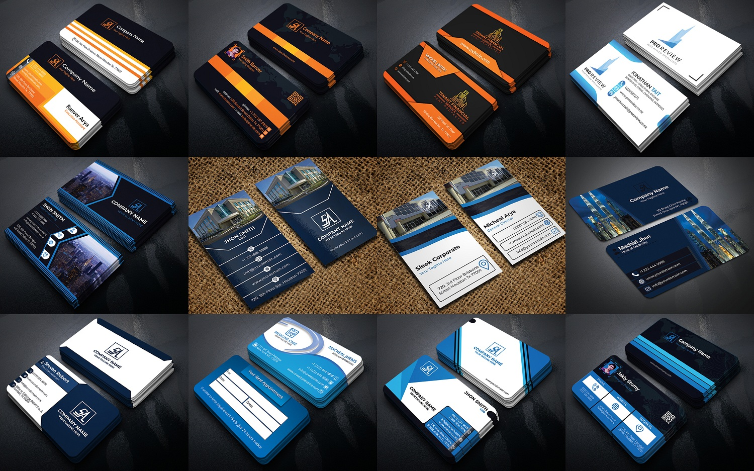 I Will Create Professional Amazing Business Card Design in 24 hour