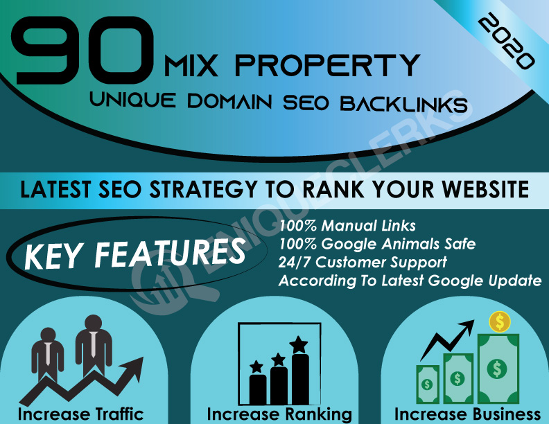 Boost Your Website Ranking With 90 Mix Property Unique Domain Backlinks