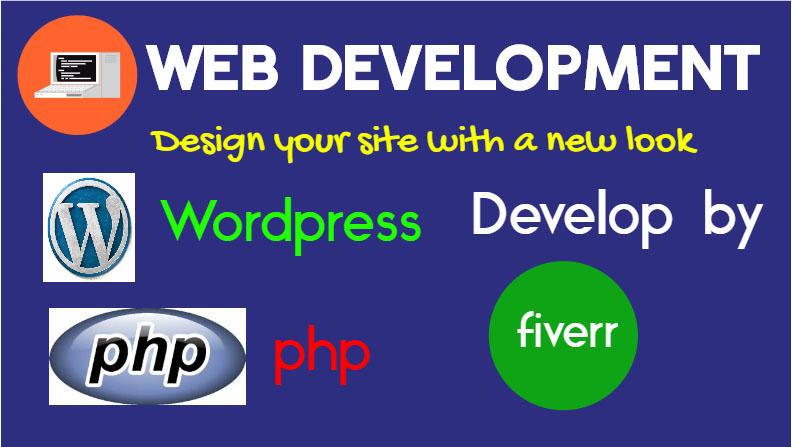 I Will do A Profetional Website Design & Develop by Wordpress