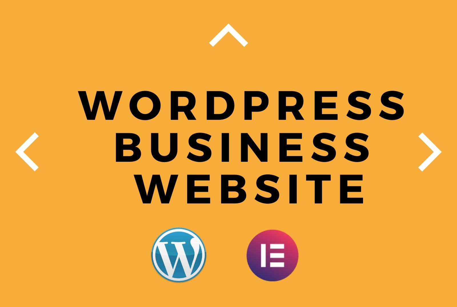 I will create your WordPress business website with elementor pro