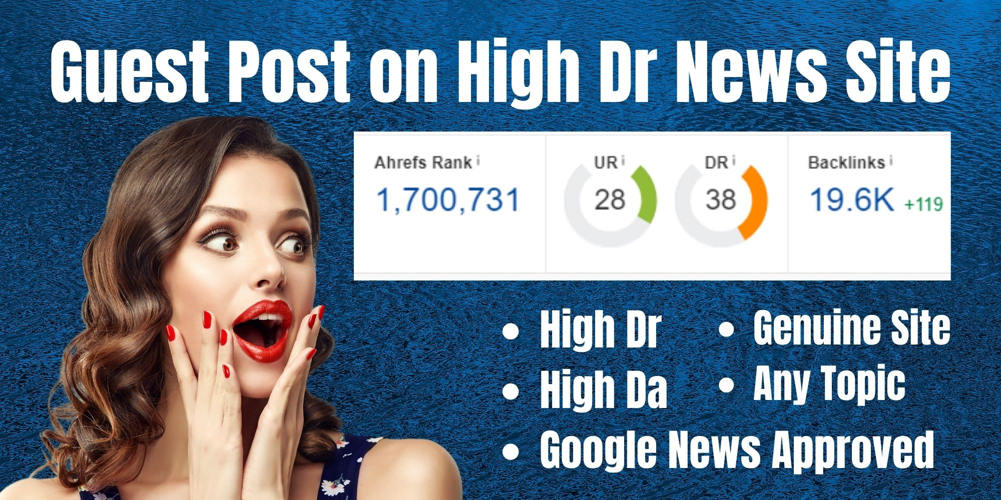 Publish Do Follow guest post on High DA,  High DR News Site,  Google News Apprved