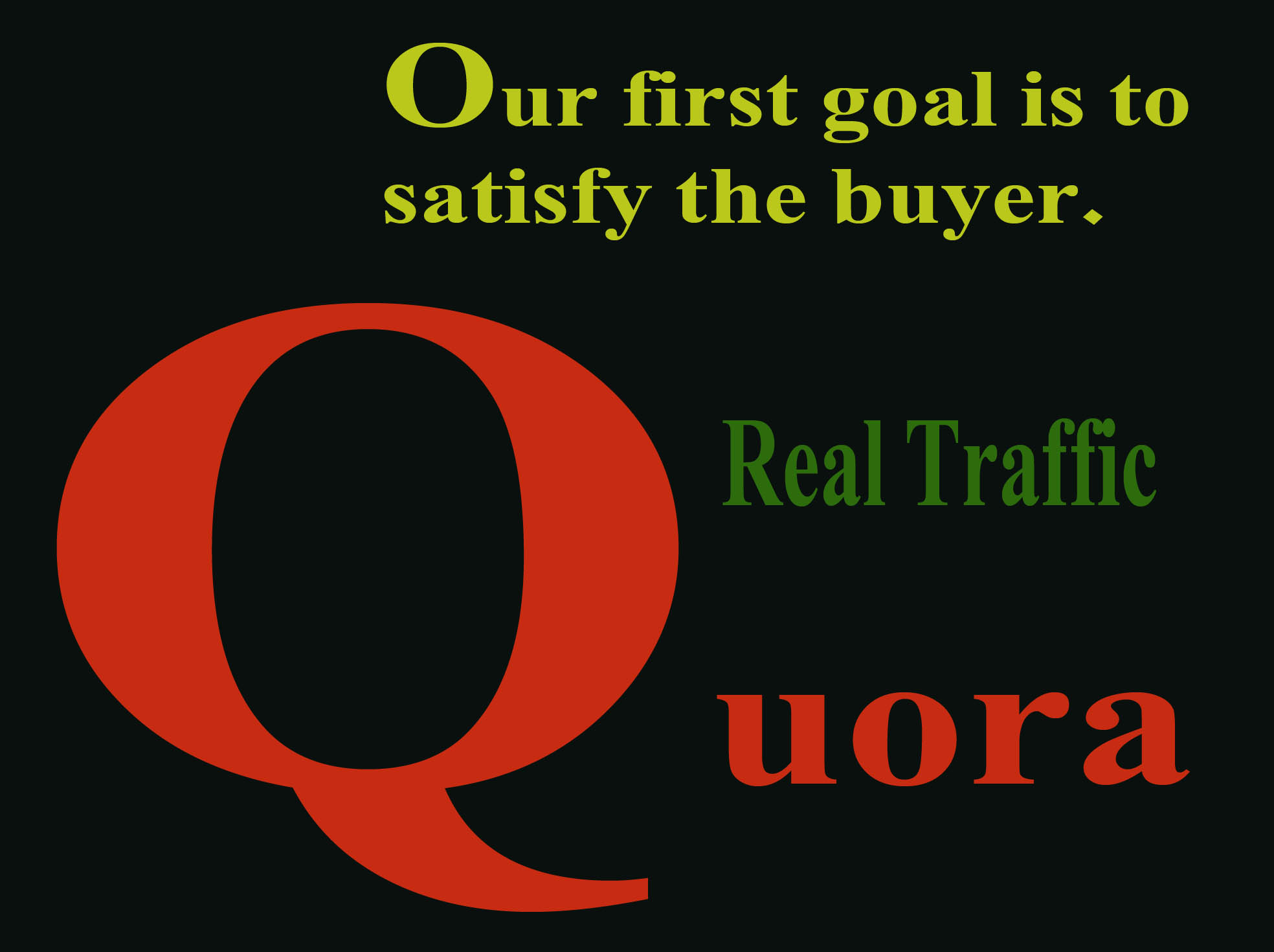 30 Quora answer to get targeted traffic