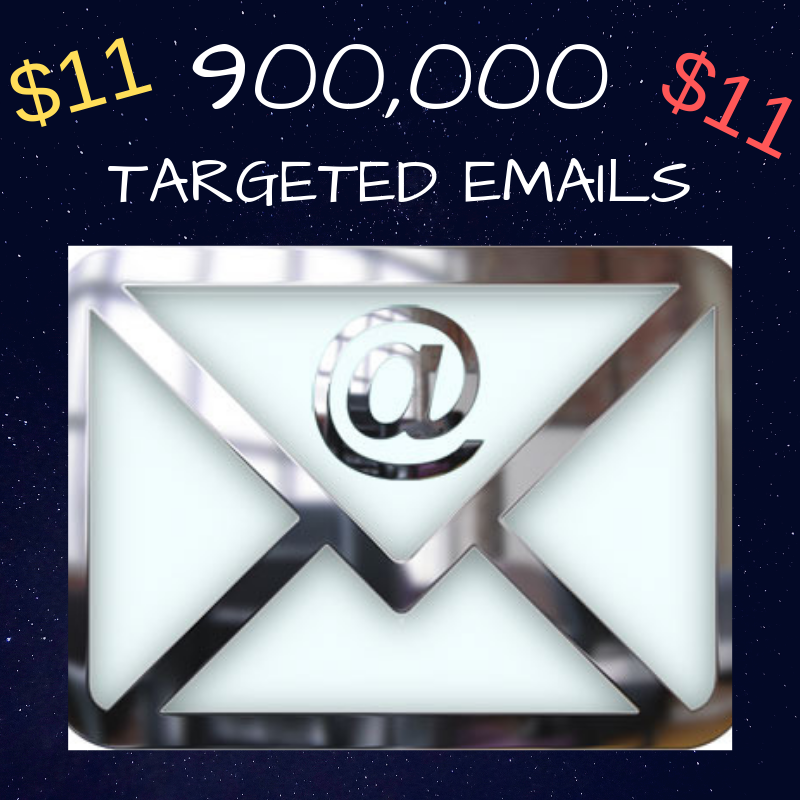 Best Deal Online 900k Keyword Targeted Emails