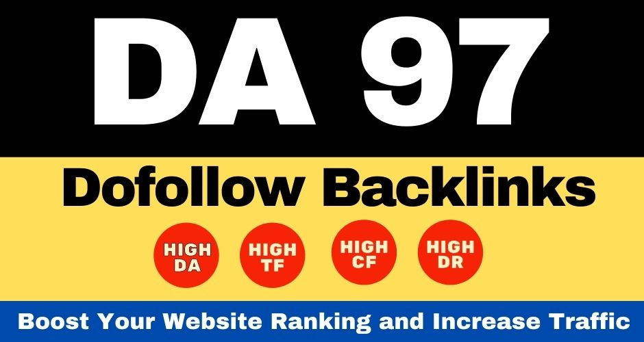 MANUAL SERVICE White Hat Dofollow Link Building Service