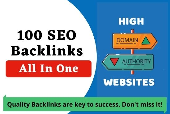 All In One 100 SEO Backlinks White Hat Link Building Service