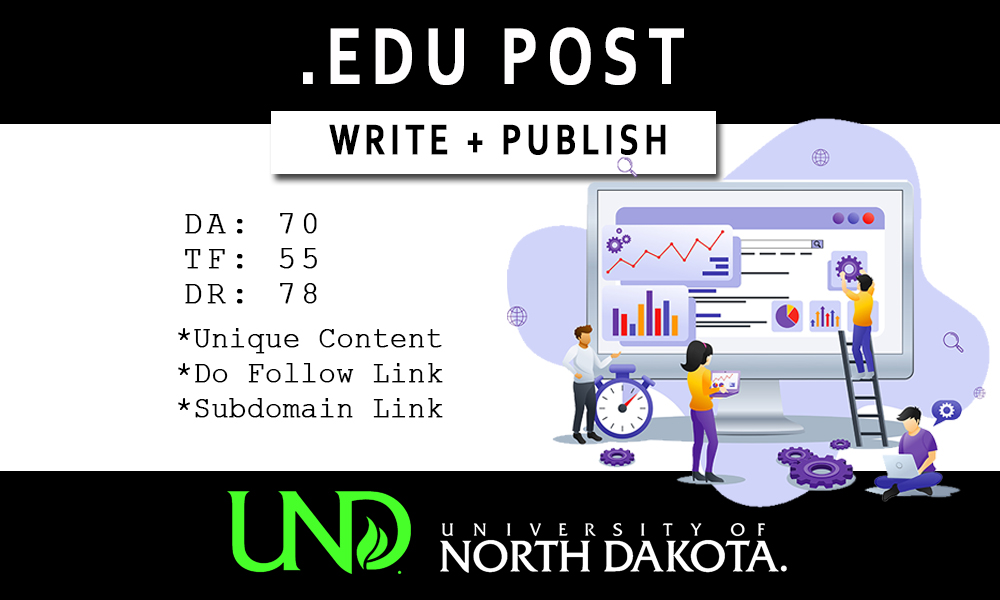 Write and Publish EDU Post on UND. EDU