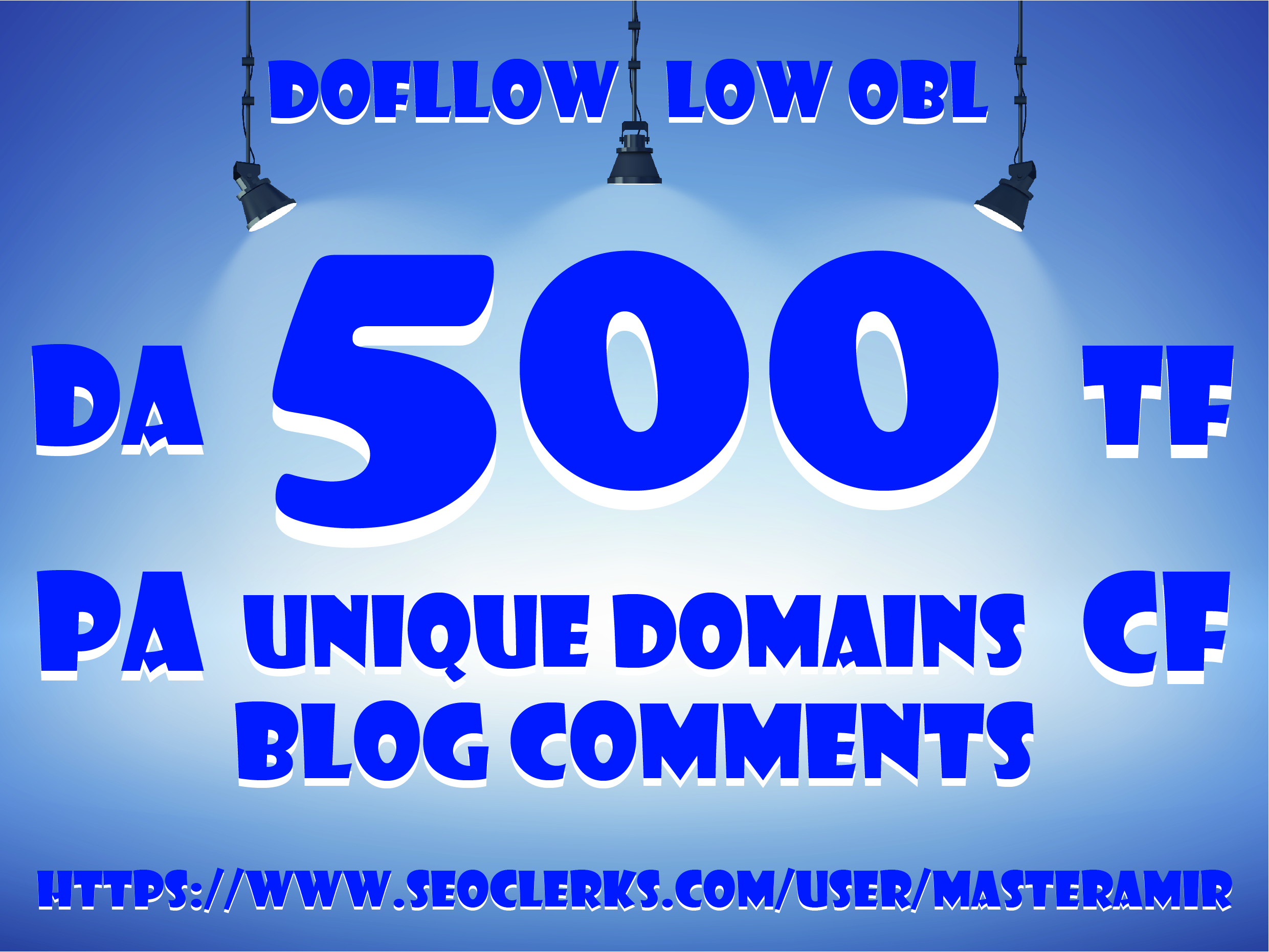 Buy 2 Get 1 Free Create 500 Dofollow Unique Domain Blog Comments Backlinks