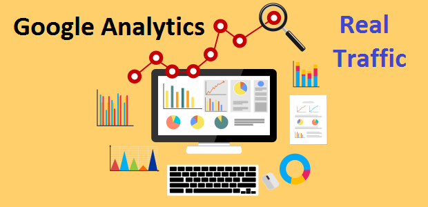 Add 5,000 Worldwide Website Google Analytics Traffic And Real Visitors For Online Marketing