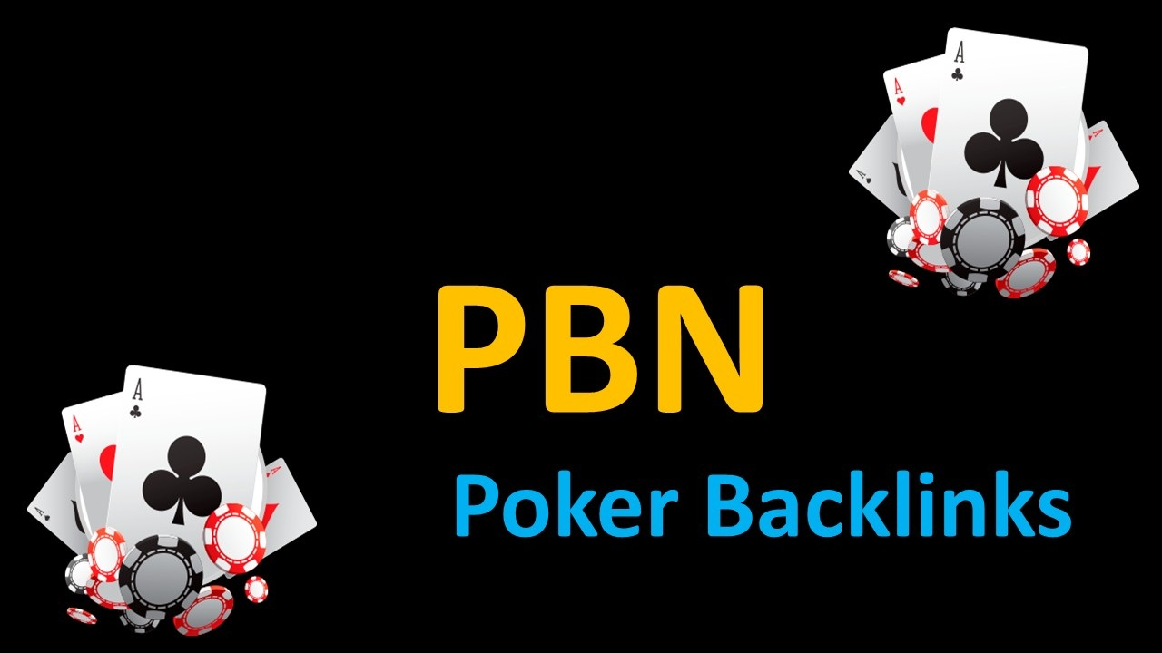 Powerful 200 Poker Backlinks Websites Get Google first Page Ranking