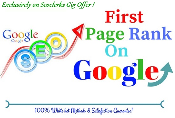 I will do complete seo of your site for 1st page ranking on google. Update 2021