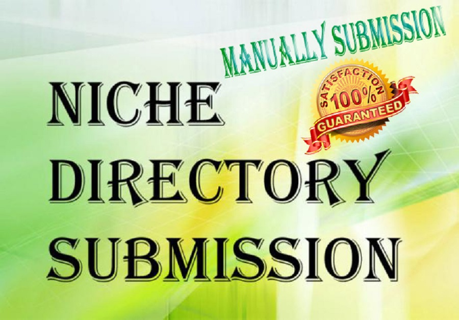 Provide 30 Niche Directory Submissions Manually