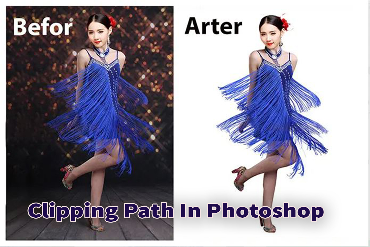 Do Clipping Path background In Photoshop