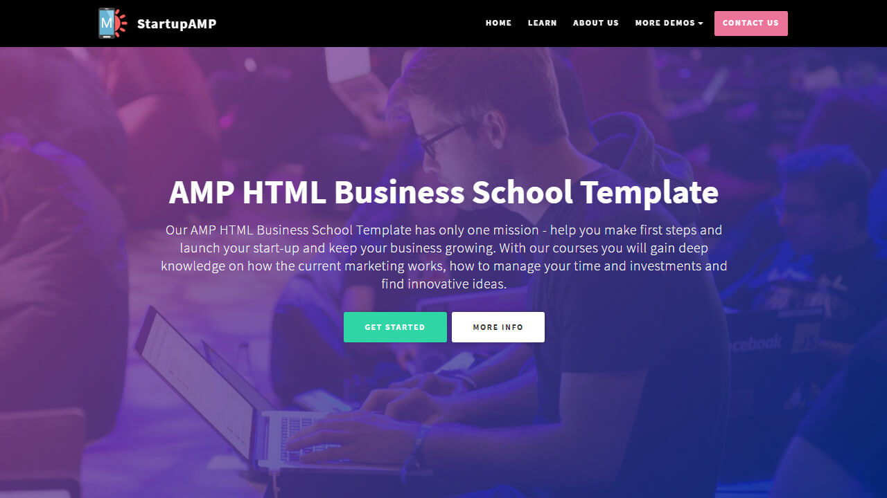 Make Responsive & user friendly website template