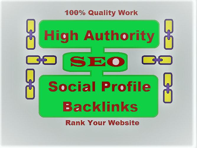 I will create high quality dofollow profile backlinks
