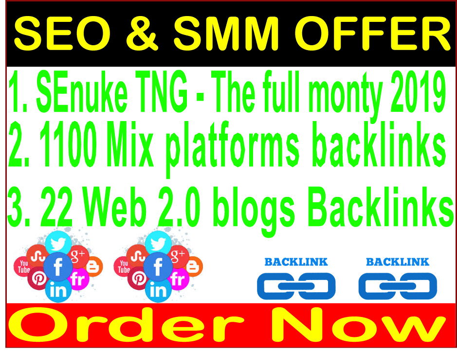 Superstar SEO Premium-SEnuke TNG The full monty-22 web 2.0 & 1100 Mix platforms