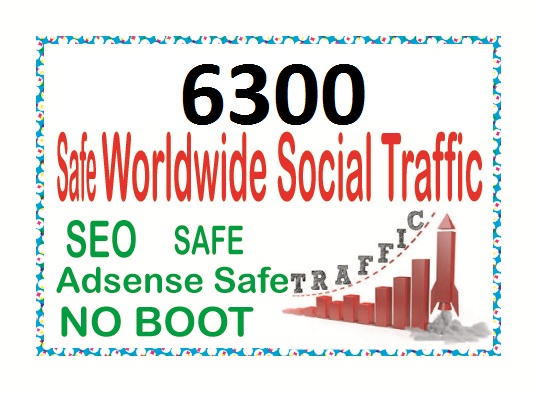 Do 6300 TARGETED Human Traffic to your Website or Blog
