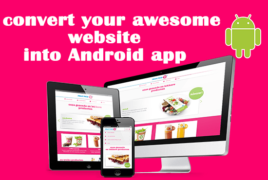Convert Website / YouTube Chanel / FB Page To Android App