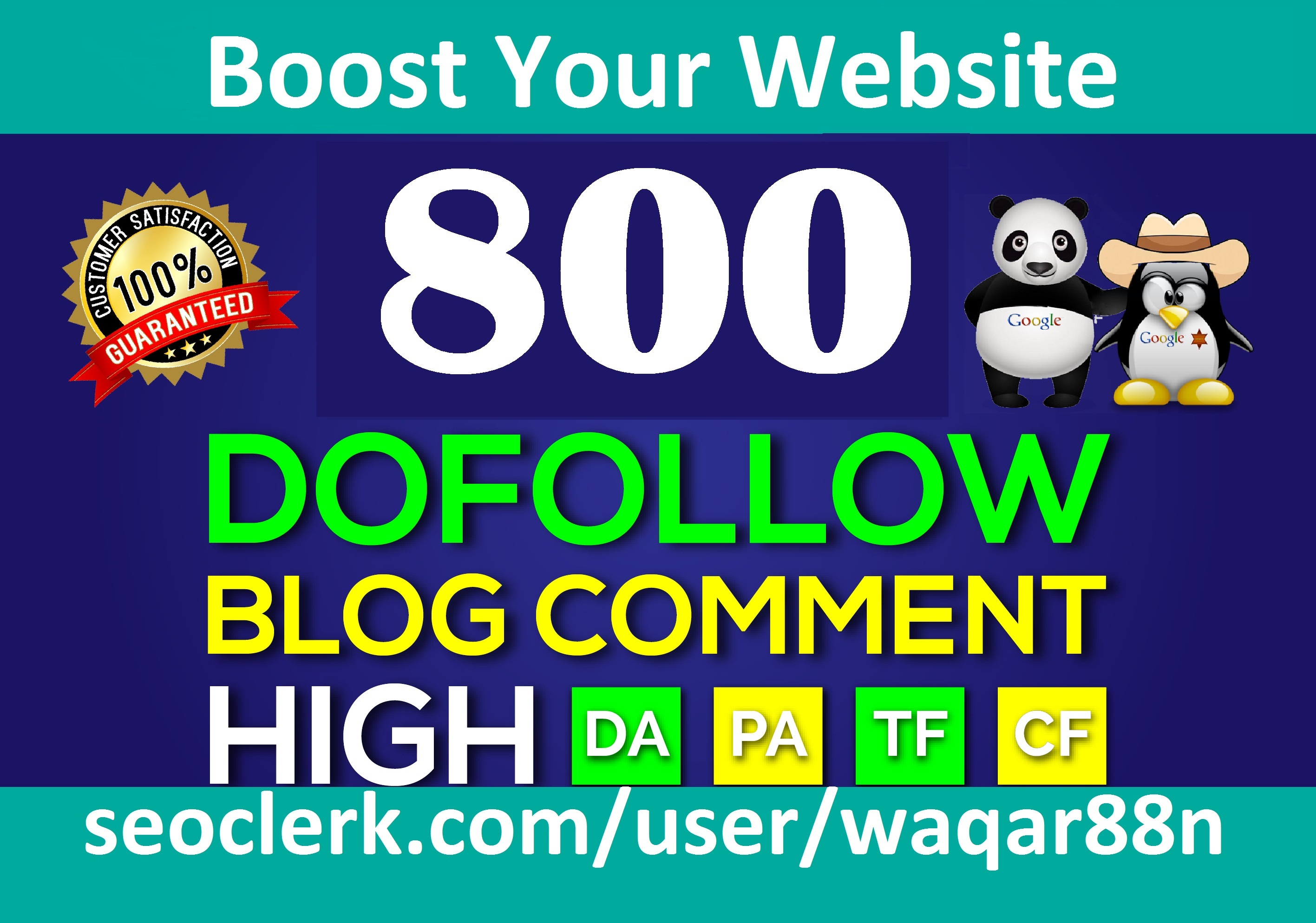 I will Create 800 High Quality Dofollow Blog Comments Backlinks Manually on High PR8+