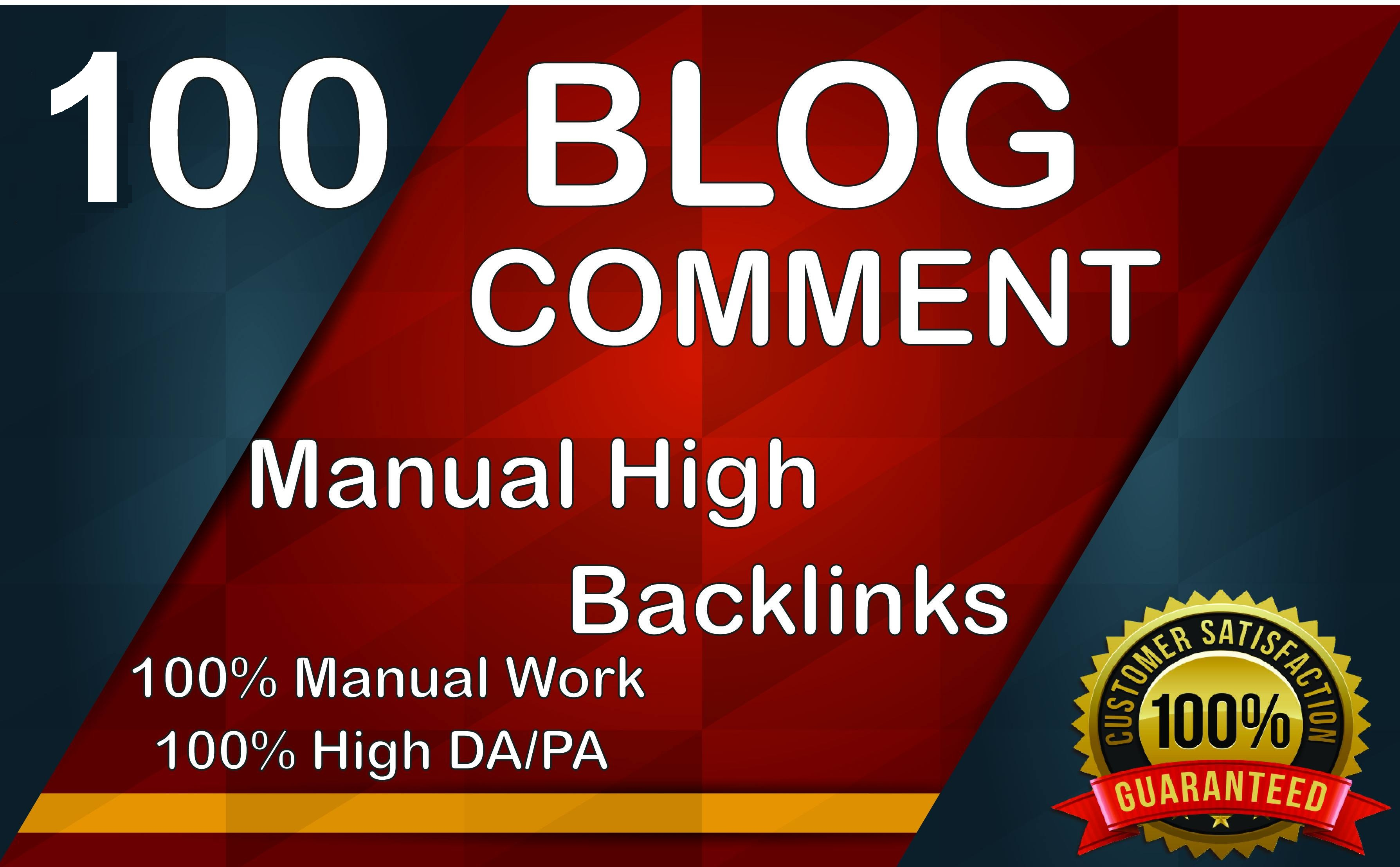 I will create 100 dofollow blog comments for boost website