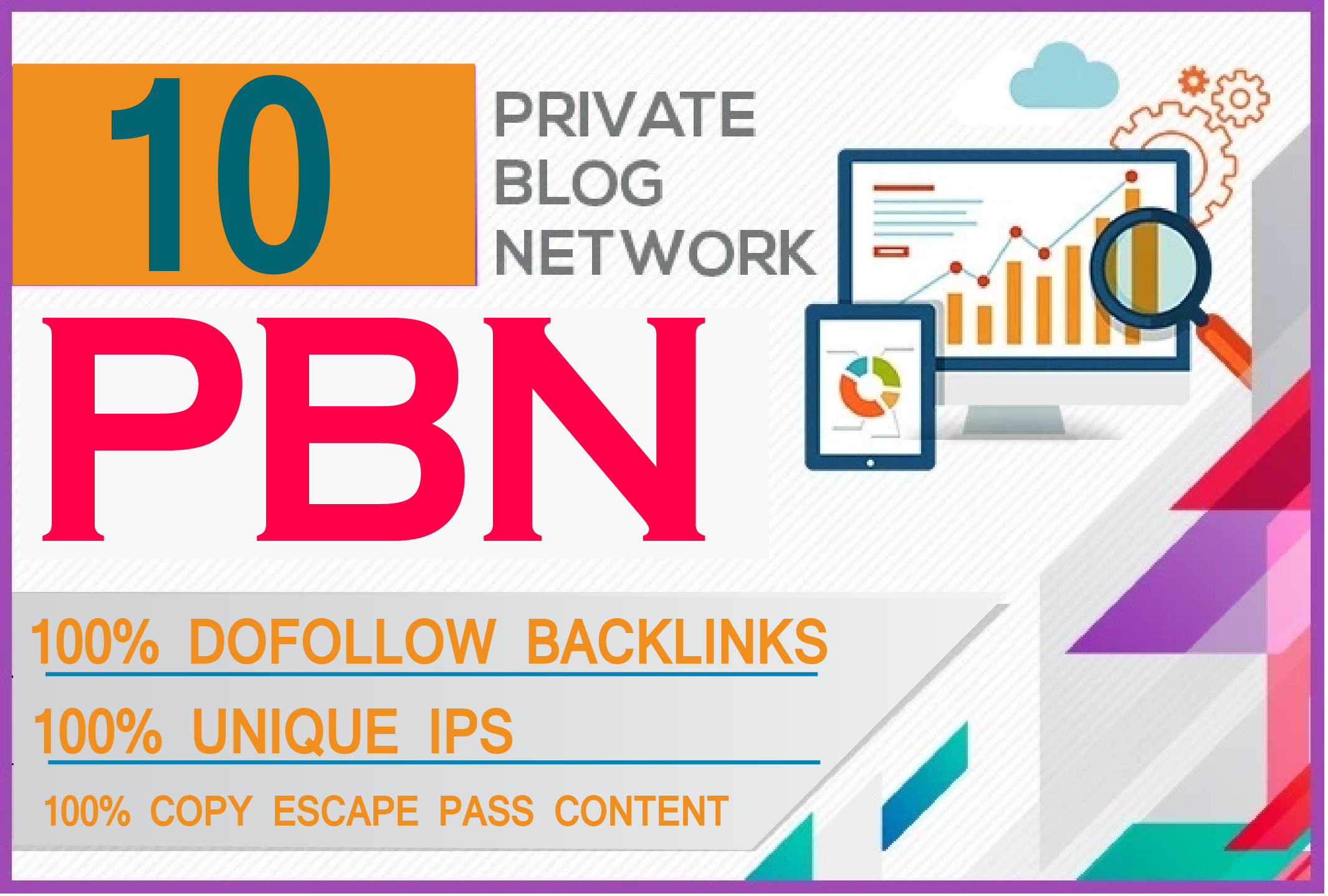 I will do 10 high metrics powerful homepage pbn backlinks