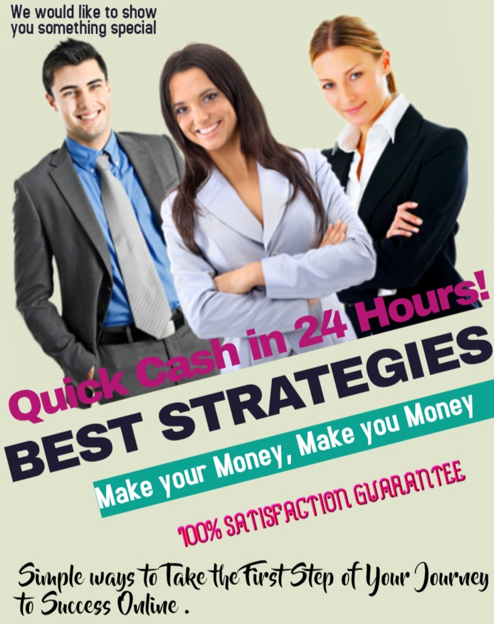 Make 150$ in 24 Hours by using simple strategies