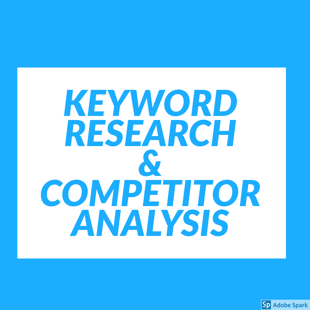 I will keyword research with competitor analysis tools