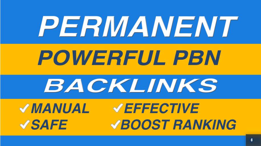 Do 5 powerful da pa dofollow permanent pbn links