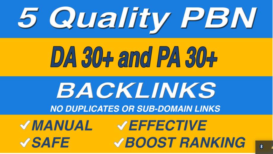 Provide high authority website dofollow pbn backlinks