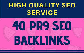 Add create submit 40 pr9 high authority SEO backlinks