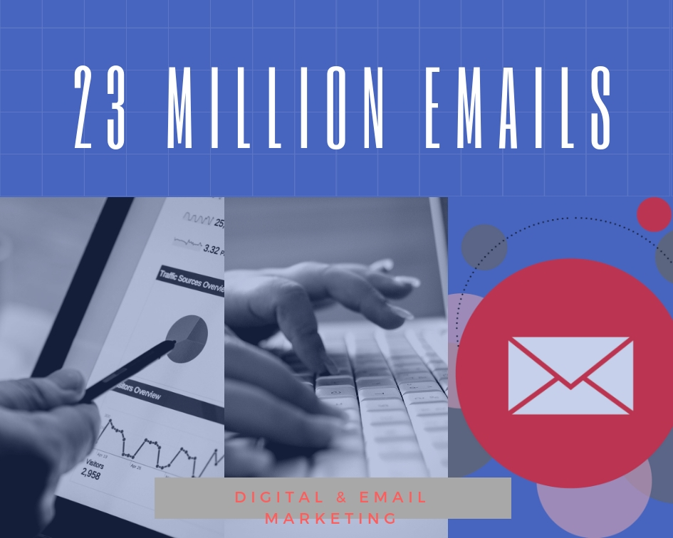 23 Million Email Database worldwide