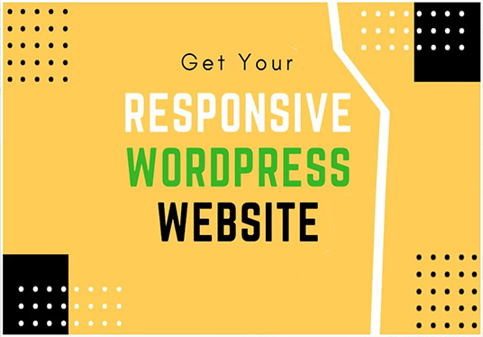 Build Responsive Wordpress Website Design & Customization