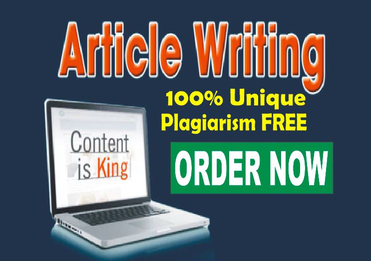 Excellent 800+ words ARTICLE or BLOG Writing- Plagiarism FREE