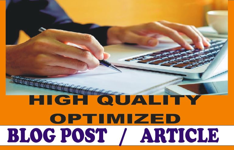 4X 500+ Words Quality ARTICLE writing,  BLOGs writing or WEBSITE content writing on any subject