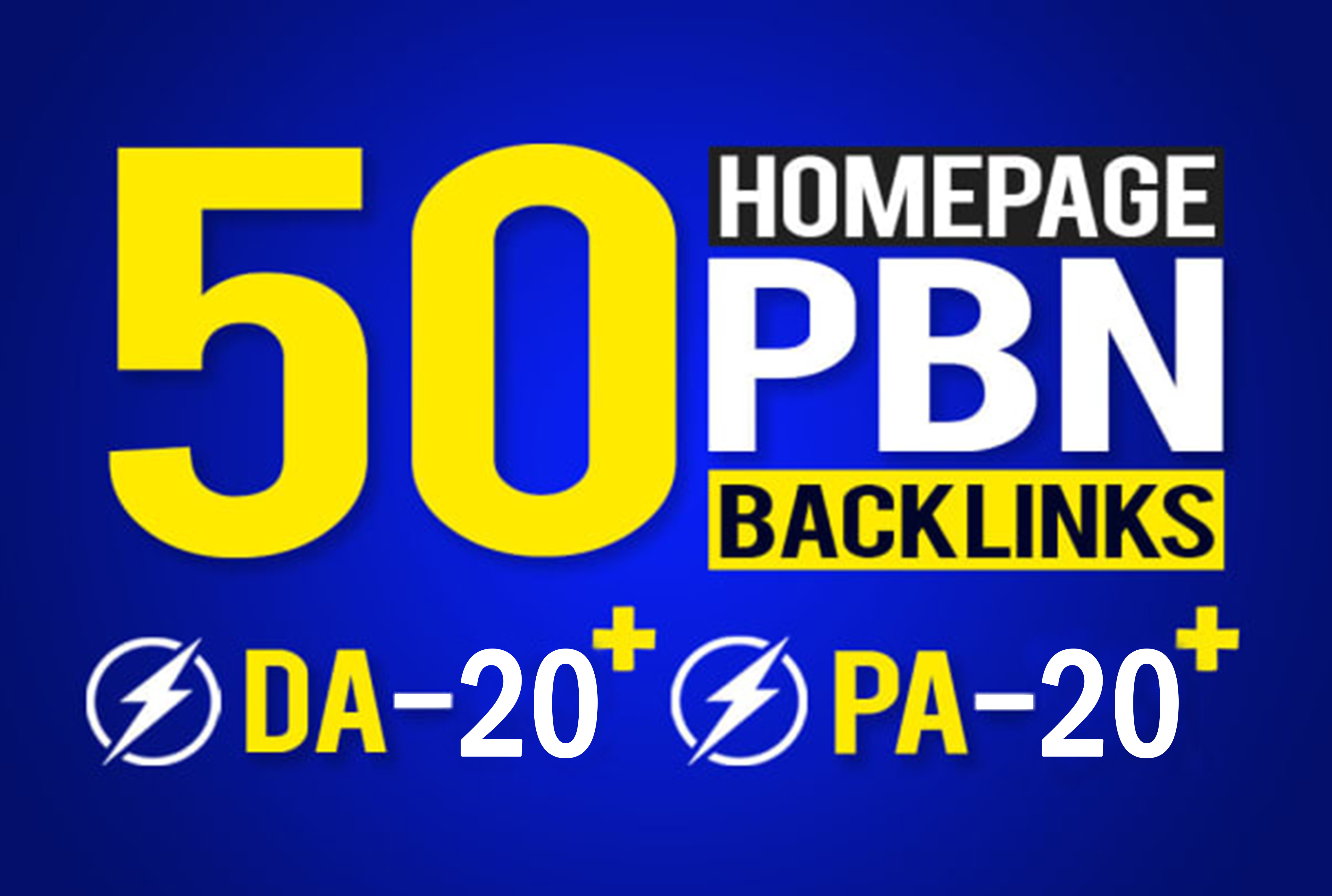 I Will build 50 powerful SEO permanent PBNs backlinks