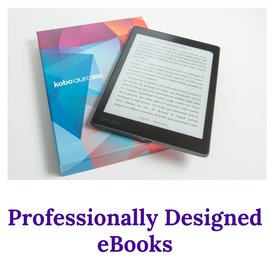 Give your eBook a Professional look