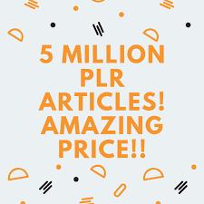 5 Million PLR Articles 1000 Niches
