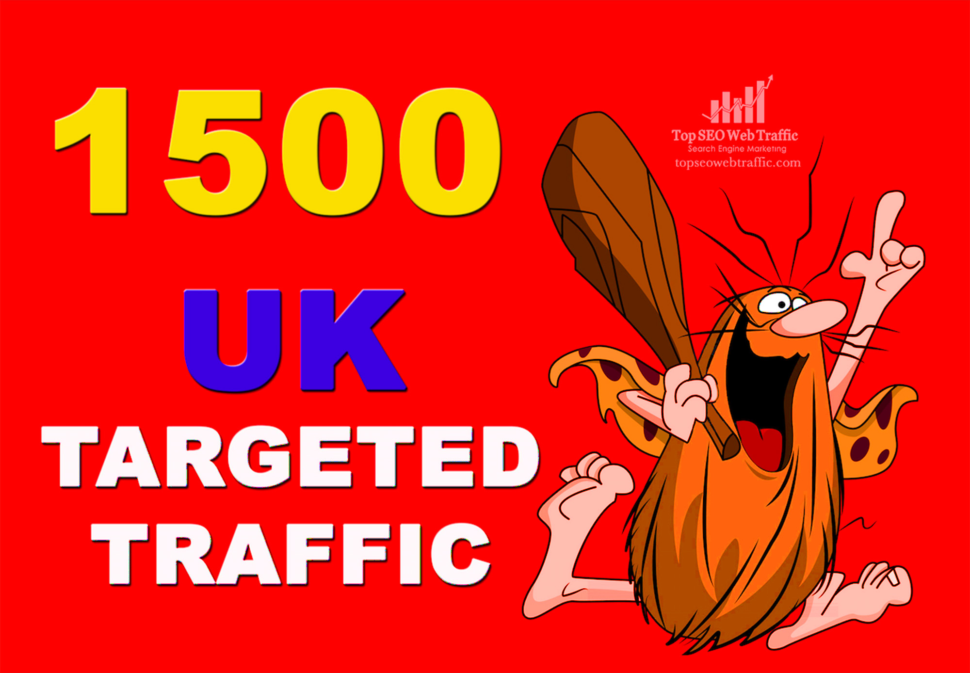 GET 1,500 HIGHT QUALITY UK WEB TRAFFIC VISITORS FOR 3 DAYS