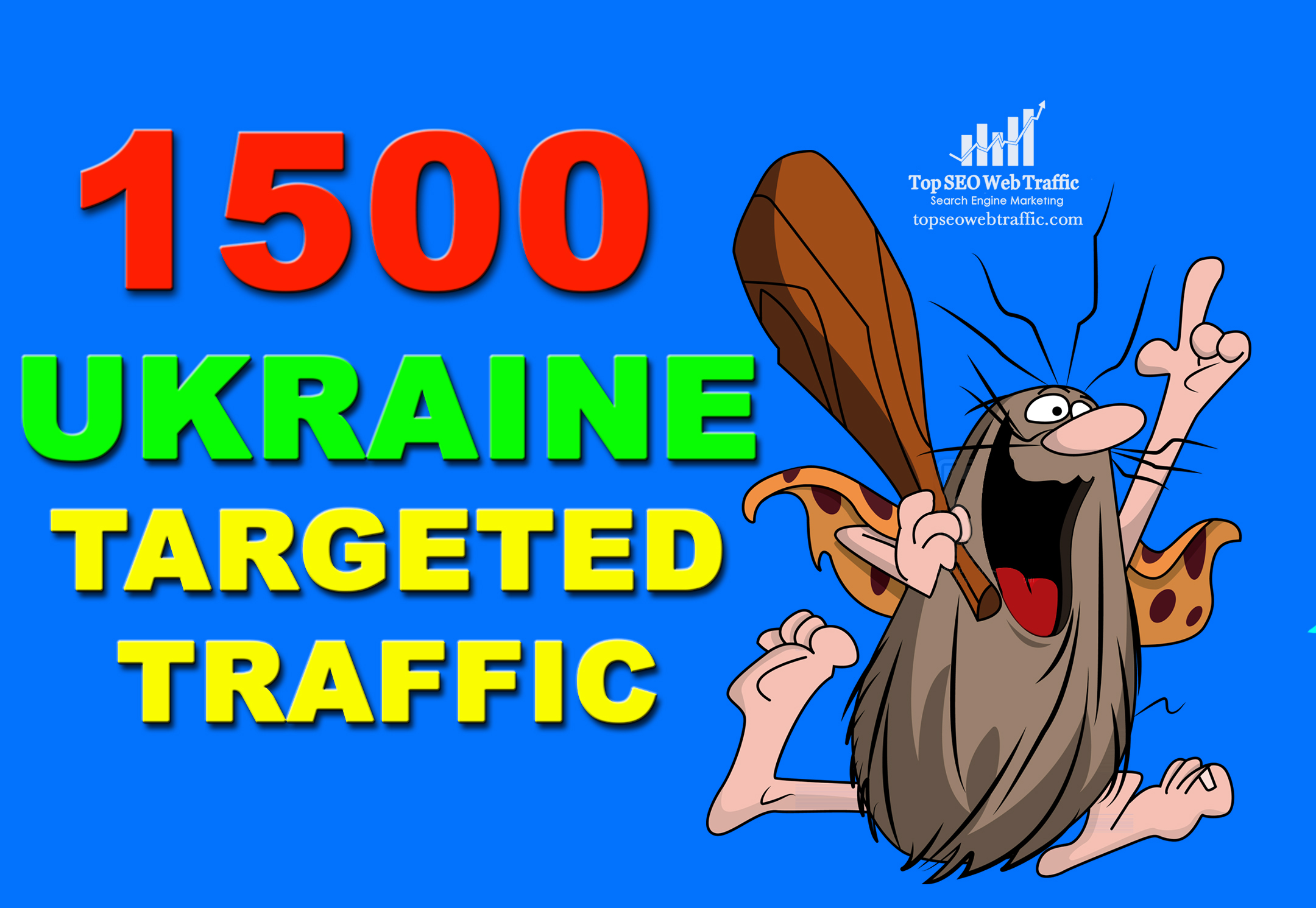 INCREASE YOUR WEBSITE OR BLOG AUDIENCE WITH WEB TRAFFIC TARGETED VISITORS FROM UKRAINE