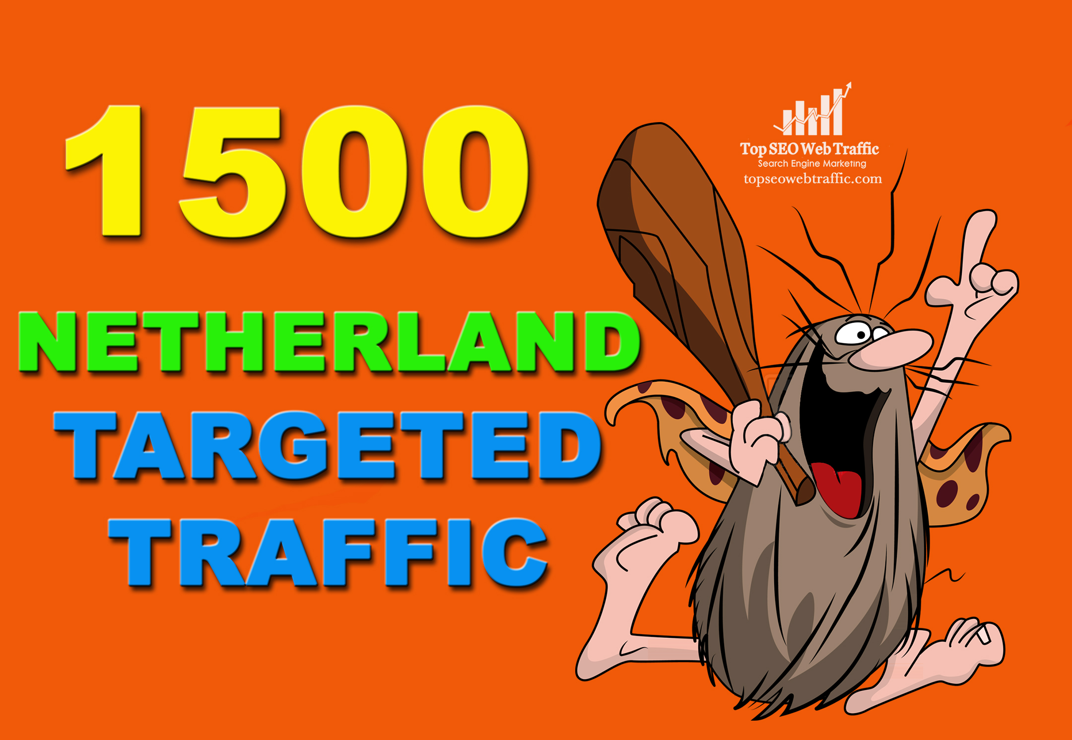 I WILL SEND 1,500 NETHERLANDS WEB TRAFFIC VISITORS FOR 3 DAYS