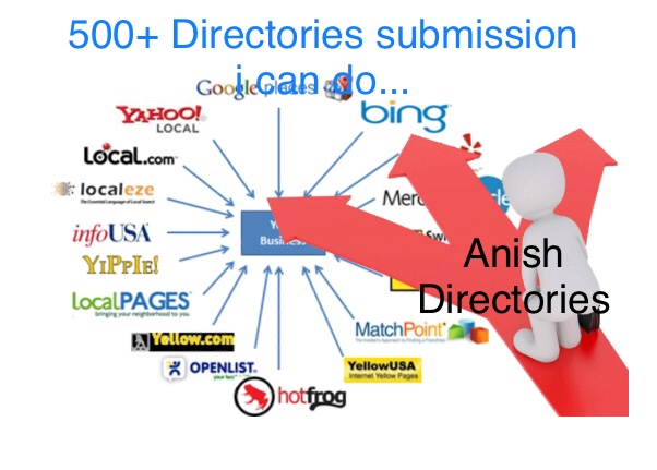 I can do 500 Directory Submission For Your Website,  full time active member
