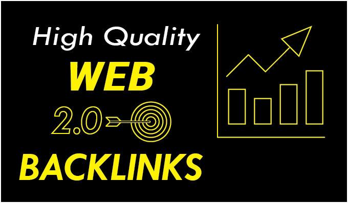 I will build 25 web 2 0 Seo backlinks