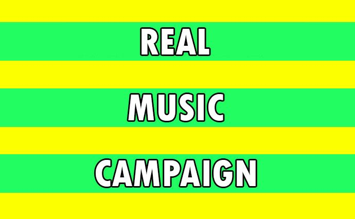 REAL MUSIC CAMPAIGN WITH ORGANIC PROMOTION