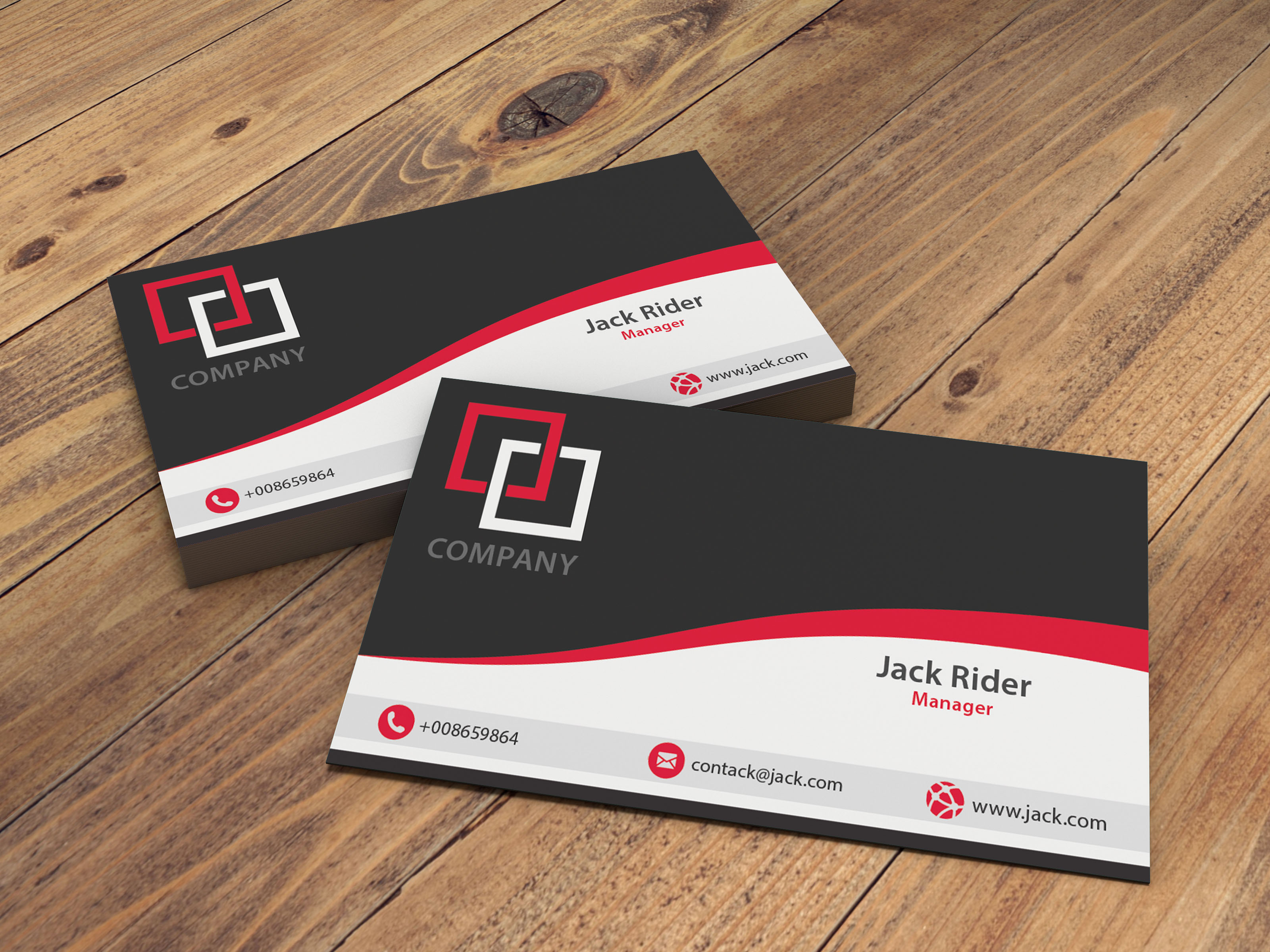 Design Creative Double Sided Business Card Or Postcards For 5