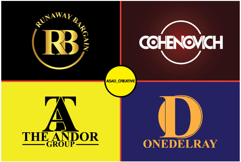 I Design Logo With Unlimited Revisions.