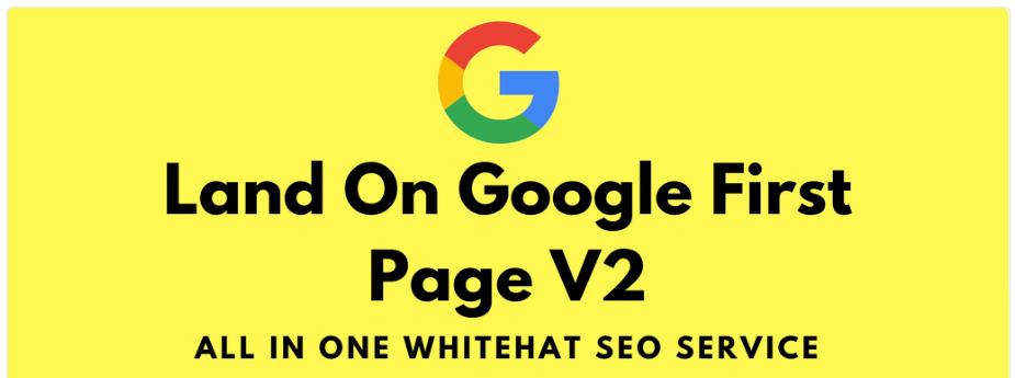 Land google 1st page with high da web2.0 backlinks v2