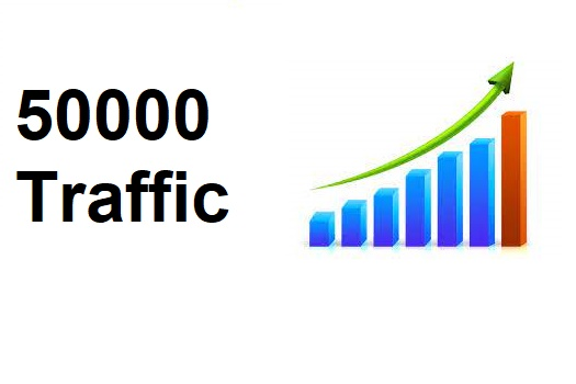 drive 50000 LOW BOUNCE keyword target website traffic for 30 days